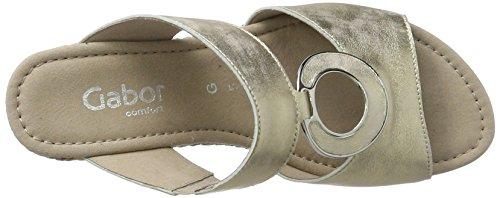 Gabor Women's Comfort Mules Silver (Platino Grata) cheap amazing price ohVluILucR