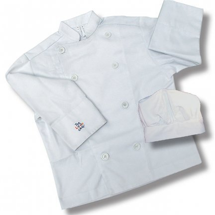 Sassafras the Little Cook Chef's Jacket and Hat For Kids (Chef Costume Boys compare prices)