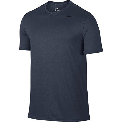 NIKE Men's Legend 2.0 Training T Shirt Thunder Blue/Black Size - Lightweight T-shirt Nike