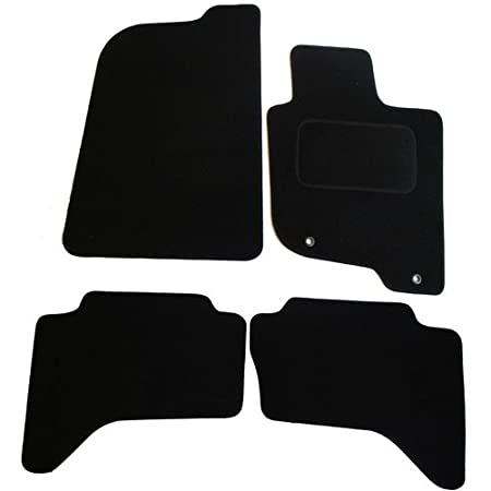 JVL Tailored 4 Piece Rubber Car Mats 2 Clip 1186R