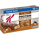 Special K Protein Chocolate Peanut Butter Meal Bar, 12 Count 1.59 ounce bars - Pack of 5