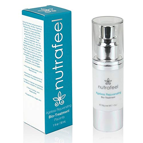 ANTI AGING Rejuvenating Bio Treatment (Medical Grade) - Revolutionary BIO PLACENTA Anti-Wrinkle Serum with ARGIRELINE | REDUCES Lines & Wrinkles | BOOST Collagen | Prolongs BOTOX (30mL)