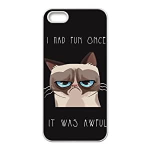Generic Cute Grumpy Cat Hardshell Cell Phone Cover Case for iPhone 6 Plus (5.5 Inch Screen) by runtopwell