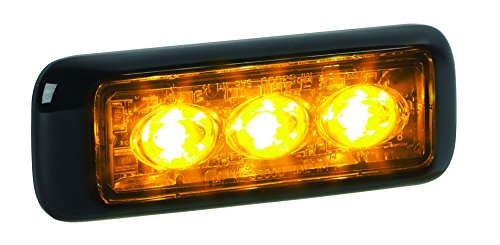 Federal Signal MPS300U-A Amber MicroPulse Ultra 3 Class 2 3-LED Warning Light