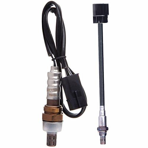 ECCPP 2pcs of Oxygen Sensor Upstream Downstream SG1695 SG1408 Fit Hyundai 01-02 Elantra 03-06 Tiburon 05-09 Tucson 03-06 Elantra Kia 05-10 Sportage