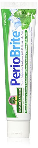 Nature's Answer Periobrite Natural Toothpaste, Cool Mint, 4 Ounce, 3 Count by Nature's Answer