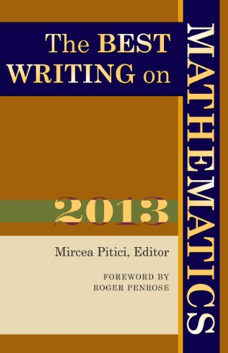 The Best Writing on Mathematics 2013 (The Best Writing On Mathematics)