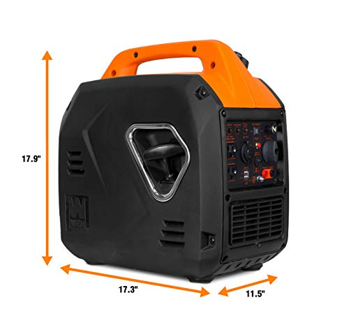 dimensions and size of WEN Lightweight portable generator