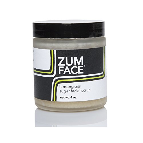 Indigo Wild Zum Face Lemongrass Face Scrub, 4 Ounce