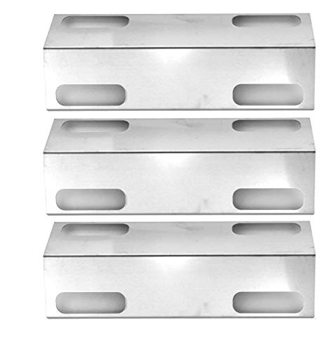 3 Pack Stainless Steel Replacement Heat Plate for Ducane 3000D, Affinity 3000 Series, 3073101, Affinity 3100, Affinity 3300, Affinity 3400, Affinity 4100, Affinity 4200, Affinity 4400 Gas Grill Models
