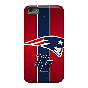 Anti-Scratch Hard Phone Cases For Apple Iphone 6 Plus With Customized Nice New England Patriots Image AlissaDubois