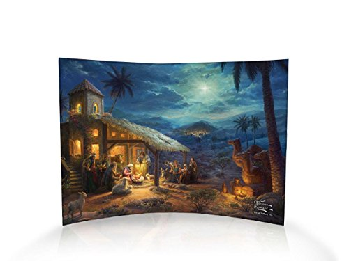 Trend Setters The Nativity Curved Acrylic Print - Home Decor Thomas Kinkade Artwork 10