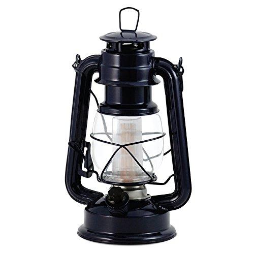 Northpoint 12 LED Lantern Vintage Style, Dark Blue