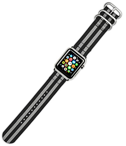 debeer-replacement-watch-band-2-piece-military-nylon-black-with-grey-fits-38mm-series-1-2-silver-ada