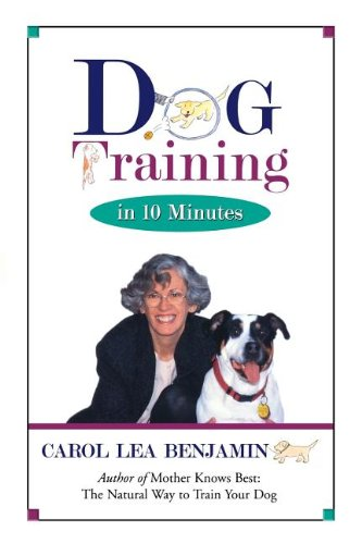Dog Training Minutes Carol Benjamin product image