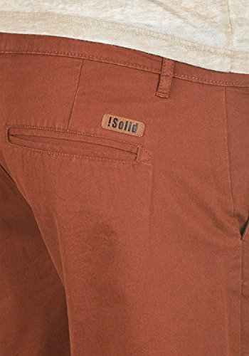 Coton Brown 6792 Homme Pour Bermuda Thement Short Chino solid Court Coupe 100 Regular Fox Pantalon CzxSOpnwq