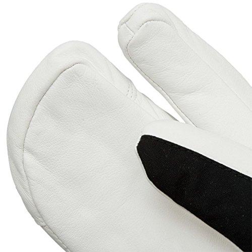 Hestra Heli 3 Finger Glove - Women's Black/Off White 5