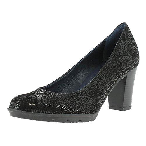Dorking Women's Court Shoes Black