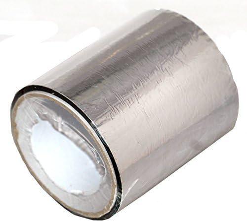 L/ámina 20m X 100mm Solar Bay Cinta Plateada Mp para Junta Sellado Aislamiento de Aluminio