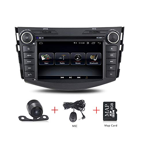 Android 8.1 Car Stereo GPS Navigation 7 inch Touch Screen 3G WiFi Radio Car DVD Player for Toyota RAV4 2007-2011