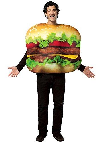 Rubie's Men's Burger Costume, Multi, One (Burger Costumes Adults)