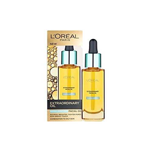 ロレアルパリ臨時リバランスフェイシャルオイル30ミリリットル x2 - L'Oreal Paris Extraordinary Rebalancing Facial Oil 30ml (Pack of 2) [並行輸入品] B071H9Q94X