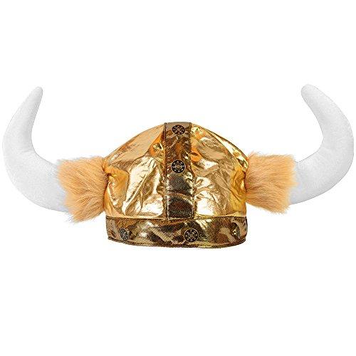Viking Helmet Horns Plush Warrior
