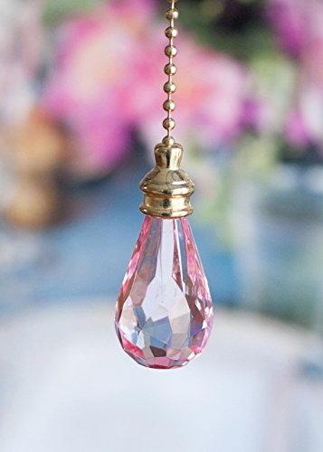 2 of Gorgeous Pink Crystal Rain