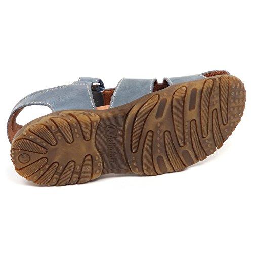 Boy Grigio Blu Vintage Sandalo Shoe Naturino Sandal Effect Grey E5980 Bimbo Kid blu Scarpe O57Pqp