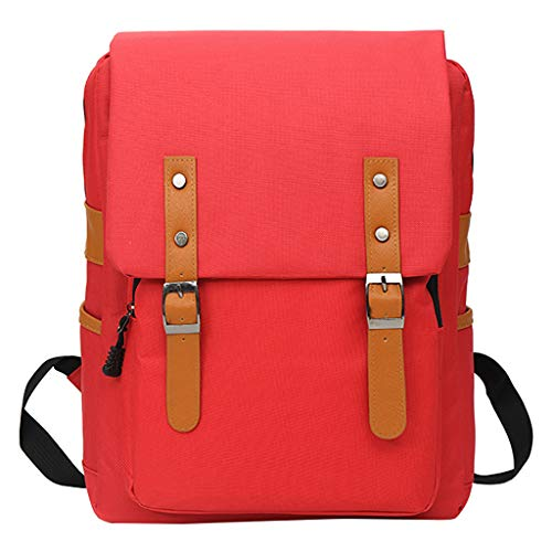 SUNyongsh Fashion Women Oxford Belt Buckle Backpack Large Capacity Bags Package Shoulder Bag