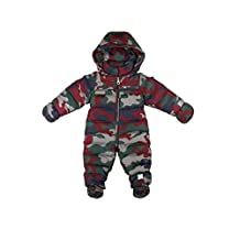 Oceankids Baby Boys' Infant Pram One-Piece Camo Snowsuit 6-24 Months