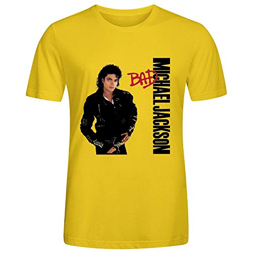 Michael Jackson Bad Tee Shirts For Men O Neck - Maybach Official Site