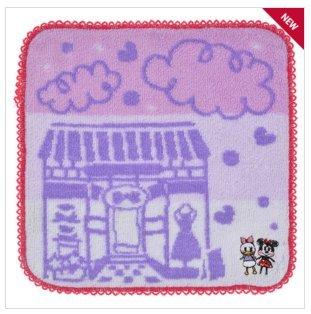 Disney Mini Towel Graffiti Minnie & Daisy Handkerchief New From Japan F/S (Party Shops Brighton)