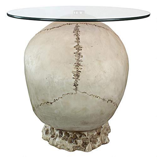 Amazon.com: Design Toscano JQ103776 - Mesa de cristal con ...