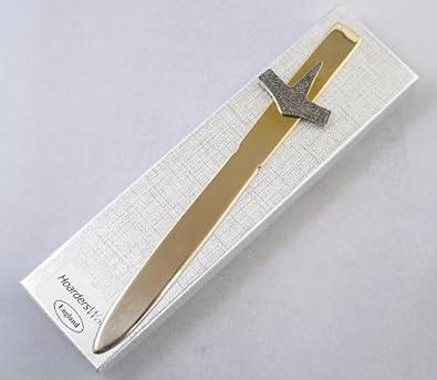 Viking martillo Thor abrecartas (cuchillo de papel) caja de regalo hecho a mano en Inglaterra: Amazon.es: Joyería
