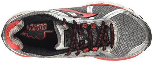 Defyance Brooks 9 Homme Silver Highriskred Silver Charcoal de Red Gris High Course Risk Chaussures Charcoal ATdUTxq