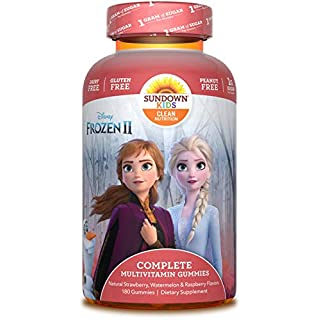 Sundown Kids Disney Frozen 2 Complete Multivitamin, 180 Count (Packaging May Vary)