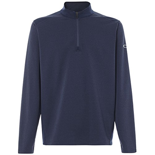 Oakley Men's Range Pullover, Fathom, - Oakley Mens Clothing