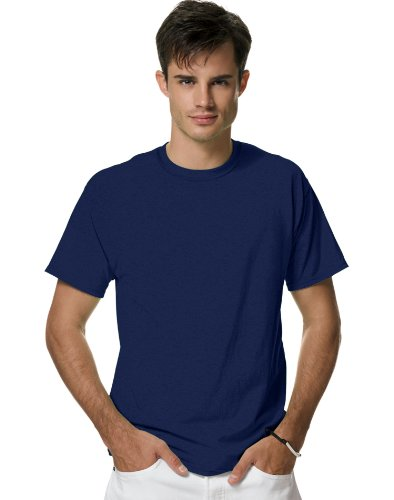 picture of Hanes H4200 Adult X-Temp® Unisex Blended Performance T-Shirt - Navy - 'S