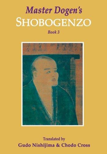 Download Master Dogen's Shobogenzo, Book 3 PDF
