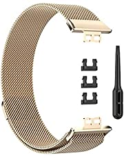 Magnetic Milanese Strap for Huawei Watch Fit - Bronze