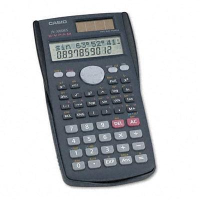 Casio FX300MS FX-300MS Scientific Calculator, 10-Digit LCD