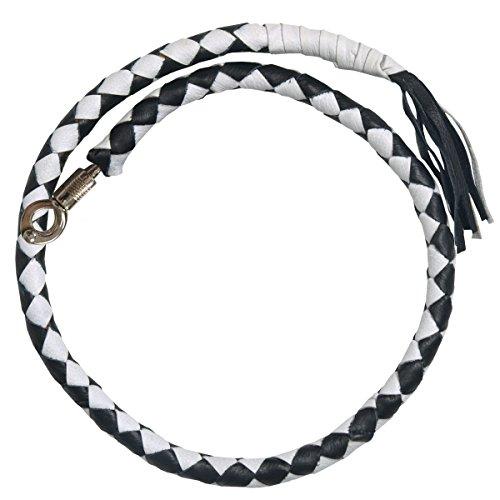 Hot Leathers MWH1103 Black/White 36