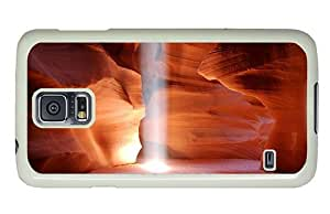 Hipster amazing Samsung Galaxy S5 Cases Antelope Canyon PC White for Samsung S5