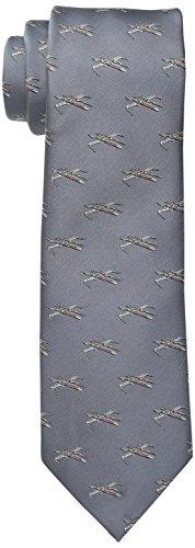 Star Wars Men's X-Wing All Over Tie, Grey, One Size (Star Wars Tie)