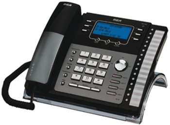 Rca 4-Line Exp Speakerphone W/ Intercom - Product Description - -Rca 4-Line Corded Telephone- Expandable To 16 Base Stations- Compatible With The Rca-25424Re1And Rca-25425Re1, And Also The Ge-29487/88, Ge-25403/404/405, Rca-25413/414/415, ()
