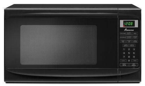Amana 0.7 cu. ft. Countertop Microwave, AMC1070XB, Black