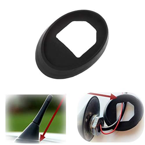 Eaglerich Antenna Base Rubber Gasket Seal for V/W V/olkswagen for B/ora for G/olf Mk4 for P/olo Black ()