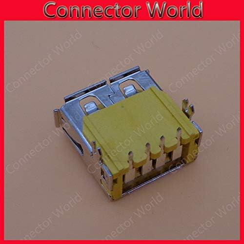 USB 2.0 Jack Gimax USB Connector Port Plug Socket for IBM Lenovo ThinkPad T530 T510 T520 W510 W520 W530 7.3mm,10pcs