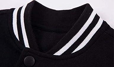 Y15Store Unisex The Exorcist Cool Hoodie Baseball Uniform Jacket Sport Coat Black Hoodies Veste Uniforme Baseball pour Hommes Femmes